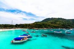 Racha Yai wyspa Zdjęcie Royalty Free