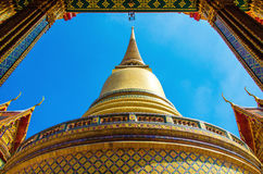 Rachabophit Royal Tombs and Thai temple Royalty Free Stock Photos