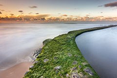 A rachadura do oceano Fotos de Stock Royalty Free