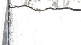 Rachadura em uma parede imagens de stock royalty free