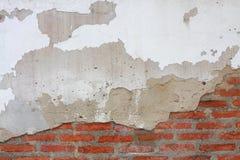 Rachadura na parede de tijolo Fotografia de Stock Royalty Free