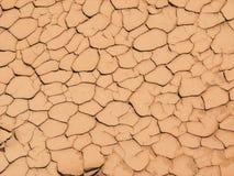 Rachaduras da lama imagem de stock