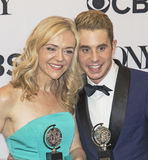 Rachel Bay Jones och Ben Platt Royaltyfri Foto