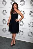 Rachel Boston arriva alla celebrazione della stagione finale della rete degli S.U.A. ?nella vista normale? Fotografia Stock Libera da Diritti