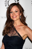 Rachel Boston komt bij de viering van het definitieve seizoen van het Netwerk van de V.S. ?in Duidelijk Gezicht aan? Stock Foto