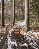 Rachel Carson przyrody deski Krajowa ścieżka fotografia stock