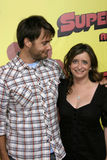 Rachel Dratch, Will Forte Royalty Free Stock Images