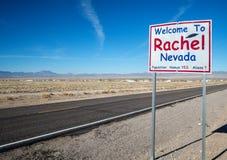 Rachel, Nevada Stockbild