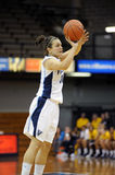 Rachel Roberts - jumpshot - Villanova University Royalty Free Stock Images