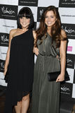 Rachel Shenton, Stephanie Wearing. Stephanie Wearing and Rachel Shenton arrives for the Malmaison Hotel Liverpool re-opening party.. 23/09/2011 Picture by Steve Stock Photography