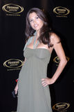 Rachel Sterling on the red carpet. In Los Angeles in 2007 royalty free stock photos