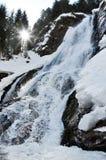 Rachitele waterfall in Transylvania, Romania Stock Photography
