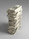 rachunek dolarowa sterta Zdjęcia Stock