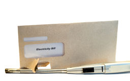 rachunek elektryczne Fotografia Royalty Free