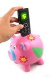 rachunek telefonu uratować Fotografia Stock