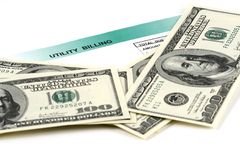 rachunek użyteczności Fotografia Stock