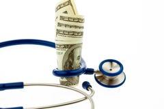 rachunków kosztów dolara zdrowie Fotografia Royalty Free
