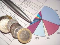 rachunkowość Fotografia Stock