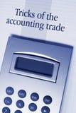 rachunkowość sztuczki Fotografia Stock