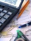 rachunkowość bałagan Zdjęcia Stock