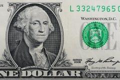rachunku dolar jeden Zdjęcie Stock