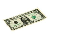 rachunku dolar jeden Fotografia Stock