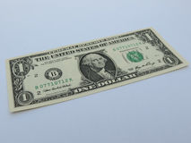 rachunku dolar jeden my Obrazy Royalty Free