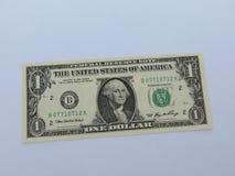 rachunku dolar jeden my Obraz Stock