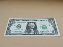 rachunku dolar jeden my Zdjęcie Royalty Free