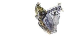 rachunku dolar sto jeden Zdjęcia Royalty Free