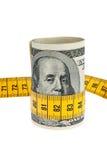 rachunku dolarowa gospodarki pakunku symbolu taśma Fotografia Royalty Free
