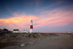 rachunku Dorset latarnia morska Portland Zdjęcia Royalty Free