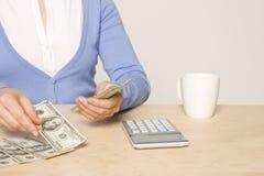 rachunku dzień wynagrodzenia praca Obraz Stock