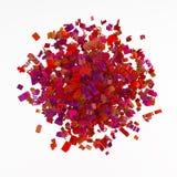 Racimo de la gramática, rojo Imagen de archivo