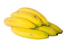 Racimo de plátanos maduros Fotografía de archivo libre de regalías