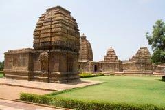 Racimo de templos, Pattadakal Imagen de archivo