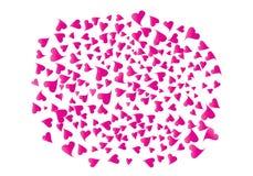 Racimo enorme de corazones ilustración del vector