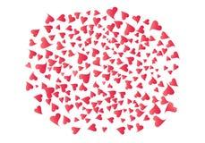 Racimo enorme de corazones libre illustration
