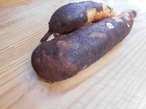 Racine douce comestible de Casava photos libres de droits