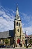 Racine kościół obrazy stock