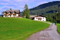 Racines Valley South Tyrol Italy Royalty Free Stock Images