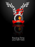 Racing. Illustration that can be used for racing event Royalty Free Stock Image