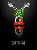 Racing. Illustration that can be used for racing event Royalty Free Stock Photography