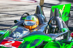 Racing:  Apr 11 TUDOR United SportsCar Championship of Long Beac. Long Beach, CA - Apr 11, 2014:  The Extreme Motorsports HDP ARX-03b Honda car practices through Royalty Free Stock Photos
