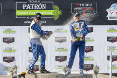 Racing:  Apr 12 TUDOR United SportsCar Championship of Long Beac Royalty Free Stock Photography