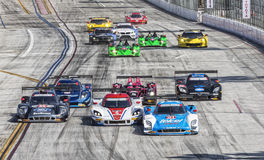 Racing:  Apr 12 TUDOR United SportsCar Championship of Long Beac Royalty Free Stock Image