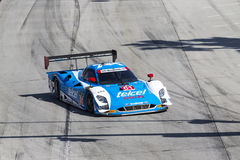 Racing:  Apr 12 TUDOR United SportsCar Championship of Long Beac. Long Beach, CA - Apr 12, 2014:  Scott Pruett and Memo Rojas, hold off the rest of the field to Royalty Free Stock Photography