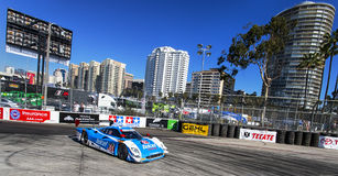 Racing:  Apr 11 TUDOR United SportsCar Championship of Long Beac. Long Beach, CA - Apr 11, 2014:  The Telcel Chip Ganassi Racing car practices through the turns Stock Image