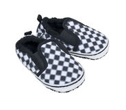 Racing Baby Shoes Stock Photo
