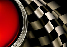 Racing Background. Computer illustration, isolated on the white Royalty Free Stock Photos